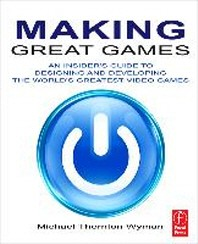 [해외]Making Great Games (Paperback)
