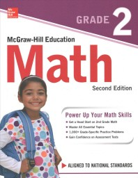 [해외]McGraw-Hill Education Math Grade 2, Second Edition (Paperback)