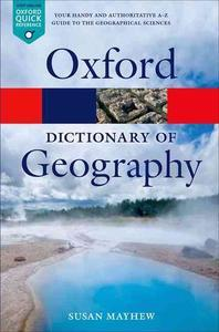 [해외]A Dictionary of Geography