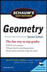 [해외]Schaum's Easy Outline of Geometry, Second Edition