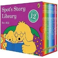 스팟 보드북 베스트 12종 세트 Spot's Story Library 12 Board books
