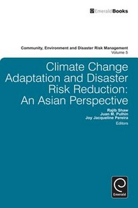 [해외]Climate Change Adaptation and Disaster Risk Reduction (Hardcover)