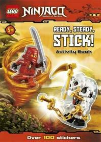 LEGO NINJAGO: READY, STEADY, STICK! STICKER ACTIVITY