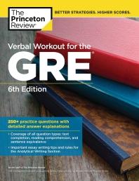 [해외]Verbal Workout for the Gre, 6th Edition
