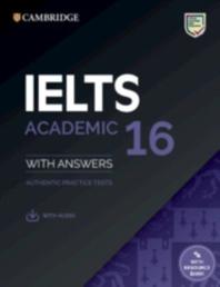 [해외]Ielts 16 Academic Student's Book with Answers with Audio with Resource Bank