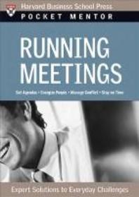 POCKET MENTOR : RUNNING MEETINGS