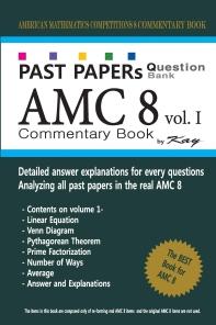[해외]Past Papers Question Bank AMC8 [volume 1]