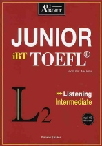 Junior iBT TOEFL Listening(All About)(MP3CD1장포함)(반양장)