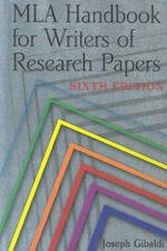 Mla Handbook for Writers of Research Papers 6/E