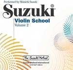 [해외]Suzuki Violin School, Vol 2 (Compact Disk)