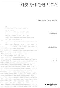 다윗 왕에 관한 보고서(지식을만드는지식 소설선집)
