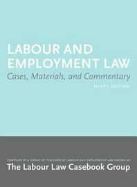 Labour and Employment Law 9/E