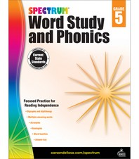Spectrum Word Study and Phonics Grade. 5