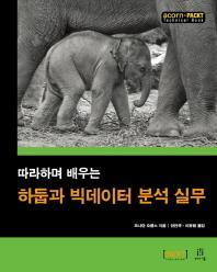 하둡과 빅데이터 분석 실무(따라하며 배우는)(acorn+PACKT)