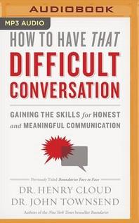 [해외]How to Have That Difficult Conversation (MP3 CD)