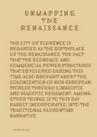 Unmapping the Renaissance