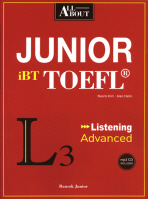 ALL ABOUT JUNIOR IBT TOEFL LISTENING ADVANCED(MP3CD1장포함)