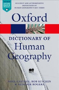 [해외]A Dictionary of Human Geography