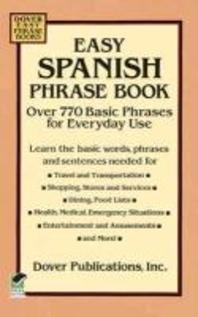 [해외]Easy Spanish Phrase Book