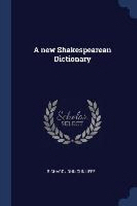 [해외]A New Shakespearean Dictionary (Paperback)