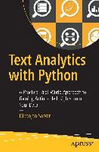 [해외]Text Analytics with Python