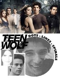 [해외]Teen Wolf Dots Lines Spirals