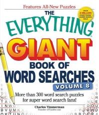 [해외]The Everything Giant Book of Word Searches, Volume 8 (Paperback)