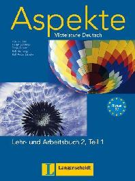 Aspekte 2 (B2) in Teilbaenden. Lehr- und Arbeitsbuch 2, Teil 1