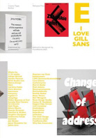 I Love Type 05 Gill Sans