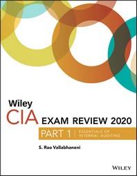 [해외]Wiley CIA Exam Review 2020, Part 1