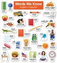 English-Spanish Photo Word Wall Bulletin Board