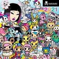 [해외]Tokidoki 2021 Wall Calendar
