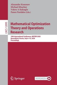 Mathematical Optimization Theory and Operations Research
