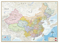 중국지도 행정(110x80)