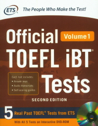 Official TOEFL iBT R Tests with Audio Vol. 1