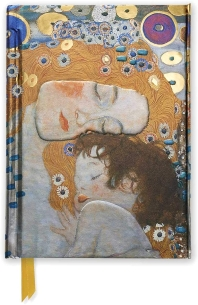 Klimt's Three Ages of Woman (Foiled Pocket Journal)