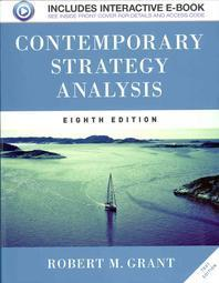 Contemporary Strategy Analysis : Text Edition (Paperback)