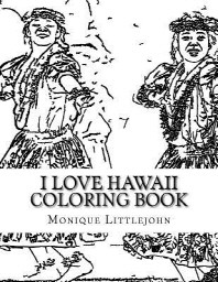 I Love Hawaii Coloring Book