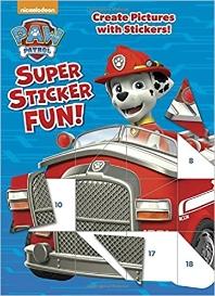 [해외]Paw Patrol Super Sticker Fun! (Paw Patrol)