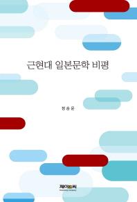 근현대 일본문학 비평(양장본 HardCover)