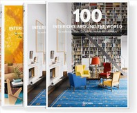 100 INTERIORS AROUND THE WORLD (2 vo