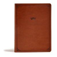 [해외]CSB Tony Evans Study Bible, British Tan Leathertouch, Indexed (Imitation Leather)