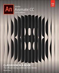 [해외]Adobe Animate CC Classroom in a Book (Paperback)