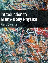 [해외]Introduction to Many-Body Physics