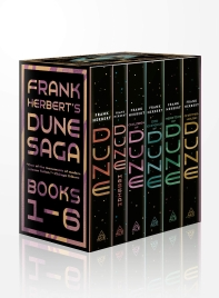 [해외]Frank Herbert's Dune Saga 6-Book Boxed Set