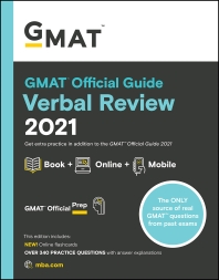 [해외]GMAT Official Guide Verbal Review 2021, Book + Online Question Bank