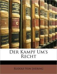 [해외]Der Kampf Um's Recht (Paperback)