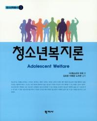 청소년 복지론(청소년학총서 3)