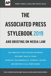 [해외]The Associated Press Stylebook 2019