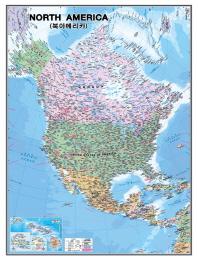 북아메리카(코팅원지)